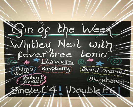 Gin of the Week at The Foresters