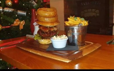 Foresters Festive Burger