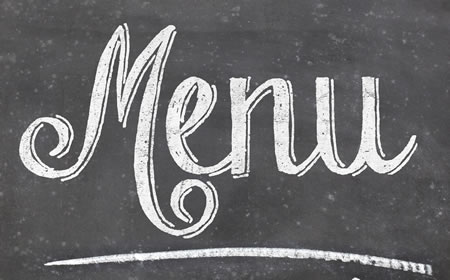 September Set Menu – Mon to Weds